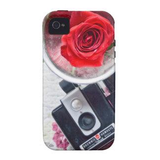 Caja del teléfono de la cámara del brownie del iPhone 4/4S fundas