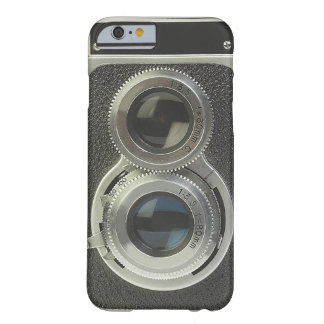 Caja del teléfono de la cámara del vintage funda de iPhone 6 slim
