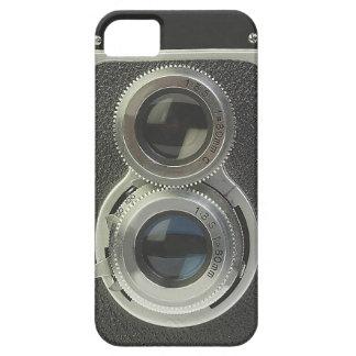 Caja del teléfono de la cámara del vintage iPhone 5 Case-Mate coberturas