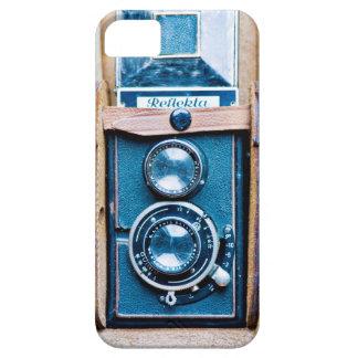 Caja del teléfono de la cámara del vintage iPhone 5 fundas