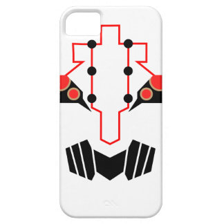 Caja del teléfono de la cara del metal iPhone 5 Case-Mate cárcasas