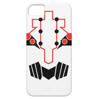 Caja del teléfono de la cara del metal iPhone 5 fundas