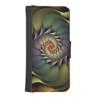 Caja del teléfono de la cartera del iPhone 5 de Billeteras Para Teléfono