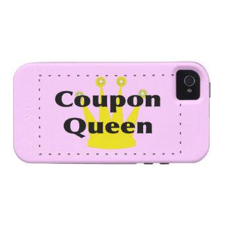 Caja del teléfono de la casamata de la reina de la iPhone 4 carcasas