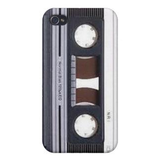 caja del teléfono de la cinta de casete iPhone 4/4S fundas