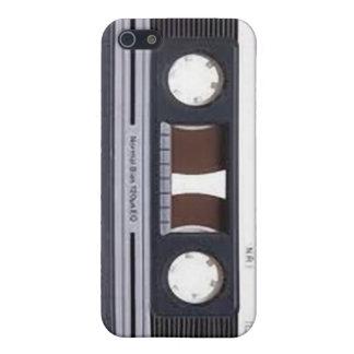 caja del teléfono de la cinta de casete iPhone 5 carcasa