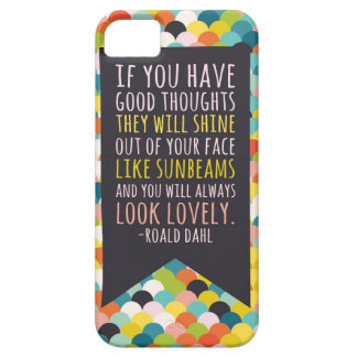 Caja del teléfono de la cita de Roald Dahl iPhone 5 Fundas