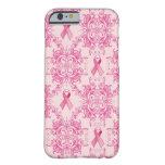 Caja del teléfono de la conciencia I del cáncer de Funda De iPhone 6 Barely There