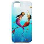 Caja del teléfono de la danza del agua iPhone 5 cobertura