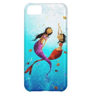 Caja del teléfono de la danza del agua