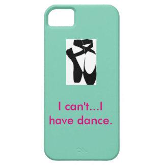 Caja del teléfono de la danza iPhone 5 funda