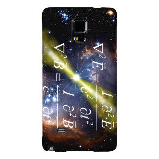 Caja del teléfono de la explosión del rayo gama funda galaxy note 4