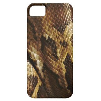 Caja del teléfono de la fauna de la serpiente del funda para iPhone 5 barely there