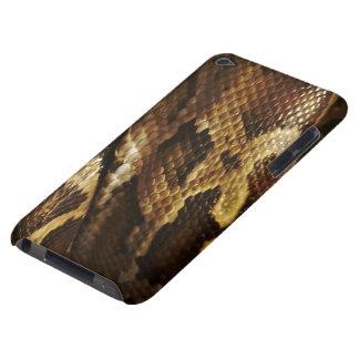Caja del teléfono de la fauna de la serpiente del iPod Case-Mate carcasa