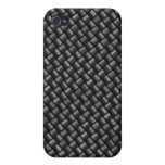 Caja del teléfono de la fibra de carbono i iPhone 4/4S carcasas