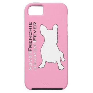 Caja del teléfono de la fiebre de Frenchie iPhone 5 Carcasas