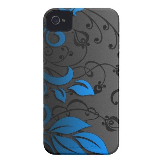caja del teléfono de la flor carcasa para iPhone 4 de Case-Mate