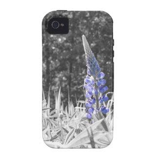 Caja del teléfono de la flor salvaje iPhone 4/4S carcasa