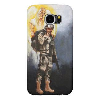 Caja del teléfono de la galaxia 6 - soldado con funda samsung galaxy s6