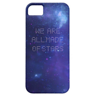 Caja del teléfono de la galaxia de Moby iPhone 5 Carcasa