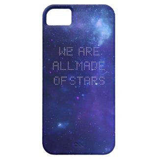 Caja del teléfono de la galaxia de Moby Funda Para iPhone 5 Barely There