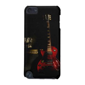 caja del teléfono de la guitarra y del amplificado funda para iPod touch 5G