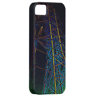 Caja del teléfono de la línea eléctrica de la iPhone 5 Case-Mate coberturas