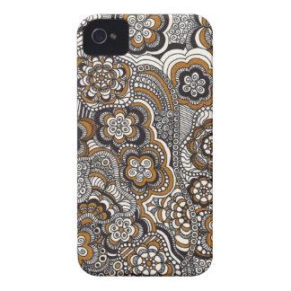 Caja del teléfono de la moca iPhone 4 Case-Mate carcasa