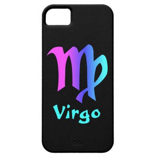 Caja del teléfono de la muestra del zodiaco del iPhone 5 fundas
