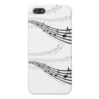 Caja del teléfono de la música i iPhone 5 protector