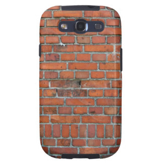 """Caja del teléfono de la """"pared de ladrillo"""" de la  samsung galaxy s3 carcasas"""