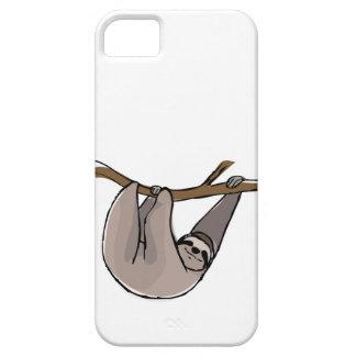 Caja del teléfono de la pereza funda para iPhone SE/5/5s