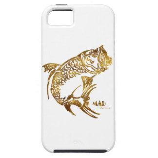 Caja del teléfono de la pesca de los pescados del iPhone 5 carcasa