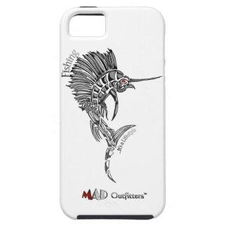 Caja del teléfono de la pesca del pez volador iPhone 5 Case-Mate cárcasas