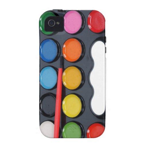 Caja del teléfono de la pintura de la acuarela iPhone 4/4S funda