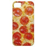 Caja del teléfono de la pizza de salchichones iPhone 5 funda