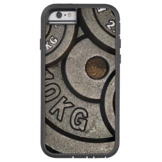Caja del teléfono de la placa del peso funda para  iPhone 6 tough xtreme