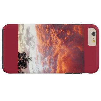 Caja del teléfono de la puesta del sol funda de iPhone 6 plus tough