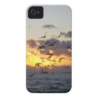Caja del teléfono de la puesta del sol I de Key iPhone 4 Case-Mate Protector