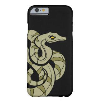 Caja del teléfono de la serpiente del pitón funda para iPhone 6 barely there