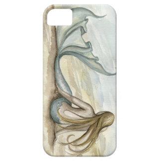 Caja del teléfono de la sirena de la playa iPhone 5 Case-Mate carcasa