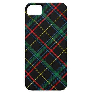 Caja del teléfono de la tela escocesa funda para iPhone SE/5/5s