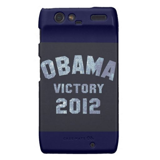 Caja del teléfono de la victoria de Obama Motorola Droid RAZR Funda
