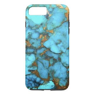 """Caja del teléfono de las azules turquesas "" Funda iPhone 7 Plus"