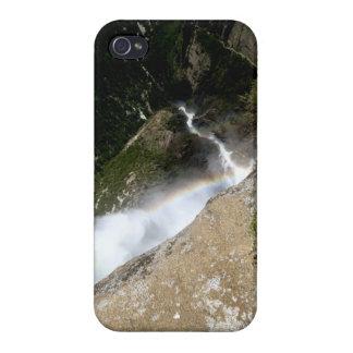 caja del teléfono de las cataratas de Yosemite iPhone 4 Fundas