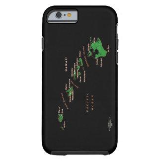 Caja del teléfono de las islas hawaianas funda para iPhone 6 tough