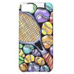Caja del teléfono de las pelotas de tenis