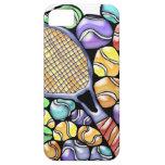 Caja del teléfono de las pelotas de tenis iPhone 5 coberturas