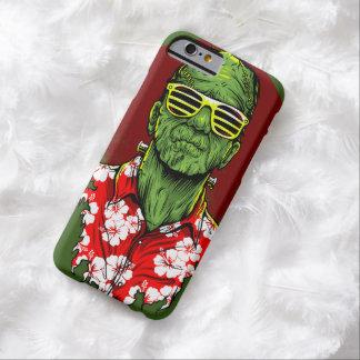 caja del teléfono de las vacaciones del monstruo funda de iPhone 6 barely there