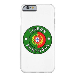 Caja del teléfono de Lisboa Portugal Funda De iPhone 6 Barely There